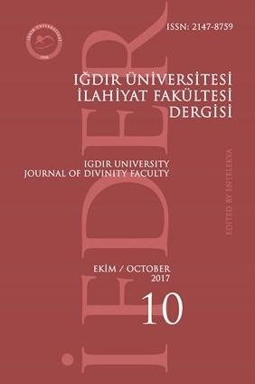 Iğdır University Journal of Divinity Faculty
