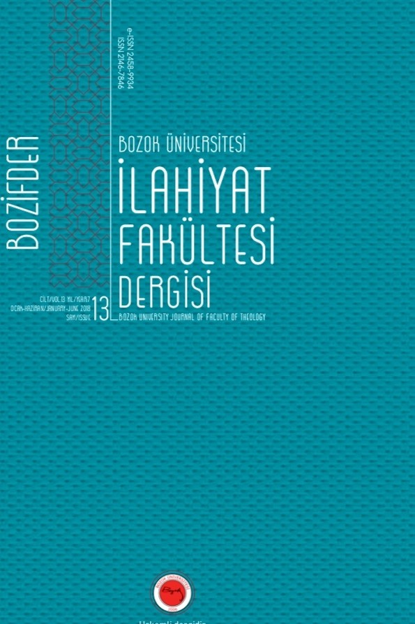 Bozok University Journal of Theology Faculty