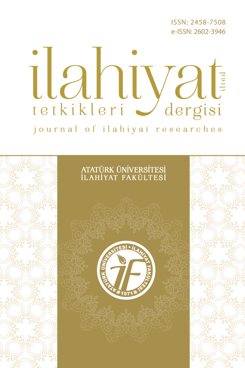 Journal of Ilahiyat Researches