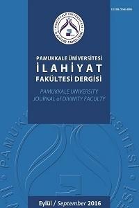 Pamukkale Üniversitesi İlahiyat Fakültesi Dergisi